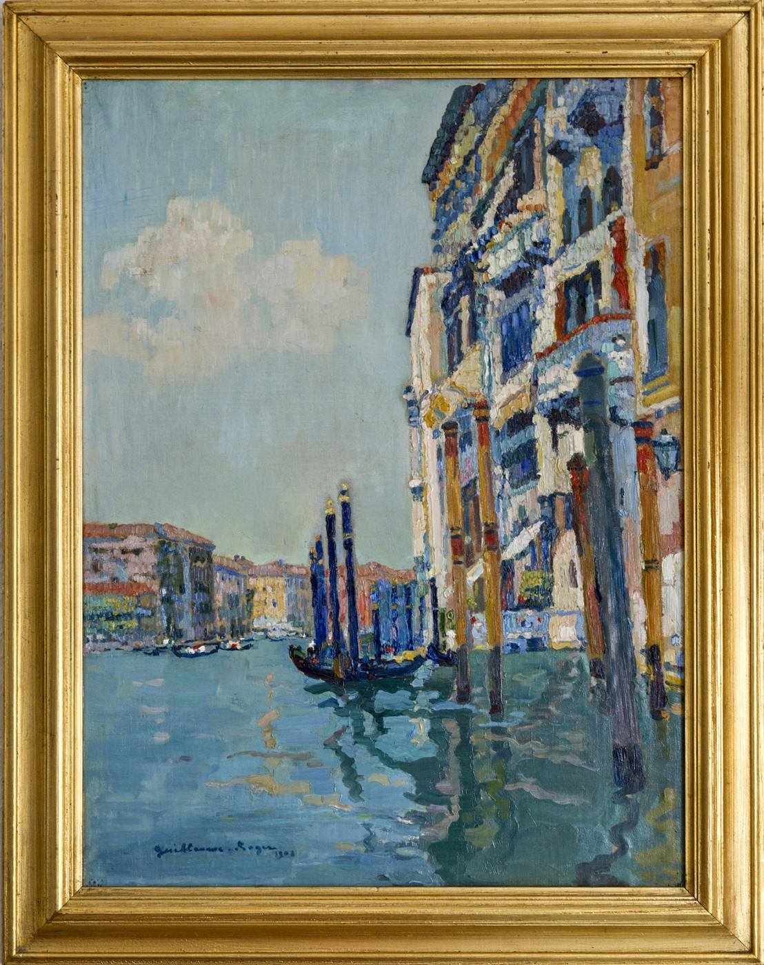 Venedig am Canale Grande (1902)