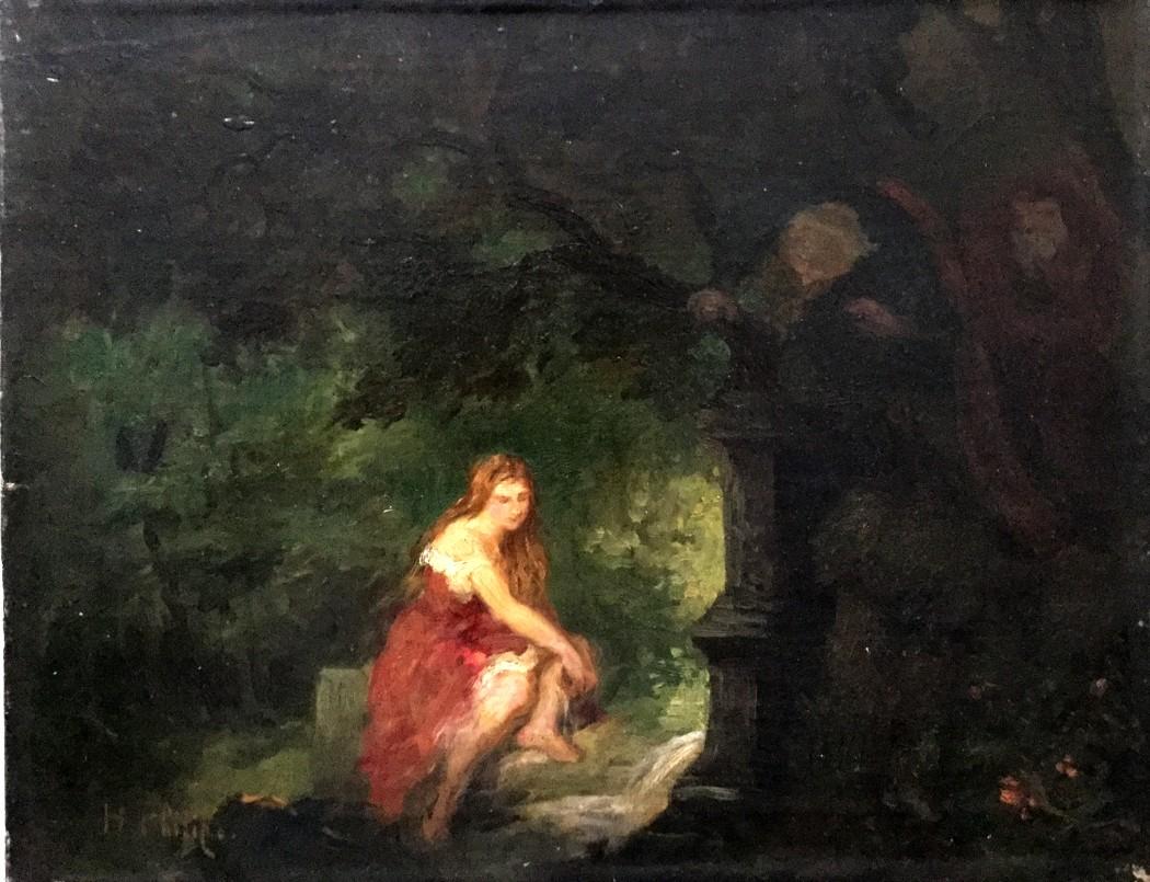 Susanna im Waldbad mit den beiden Alten