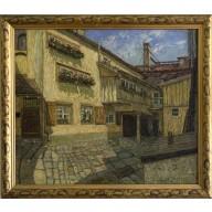 Sonniger Hof in Dresden (1904)