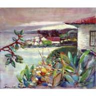 Fischerdorf auf West-Samoa (1963)