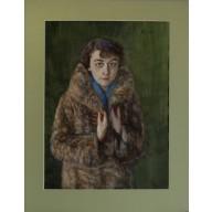 Junge Frau im Pelzmantel (1929)