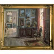 Herrschaftliches Salon-Interieur