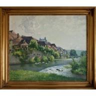 Blick auf Besigheim am Neckar